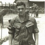 Sgt. George Richardson in early '69. Note the 52nd Inf. Crest. Photo from Dan Roberts