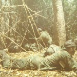 Rangers on patrol, 1972.