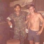 Robert Roy and Arthur Pryor in the Ranger Inn at Bien Hoa