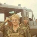 """Ken """"Snuffy"""" Anderson. Note North Vietnamese web gear."""
